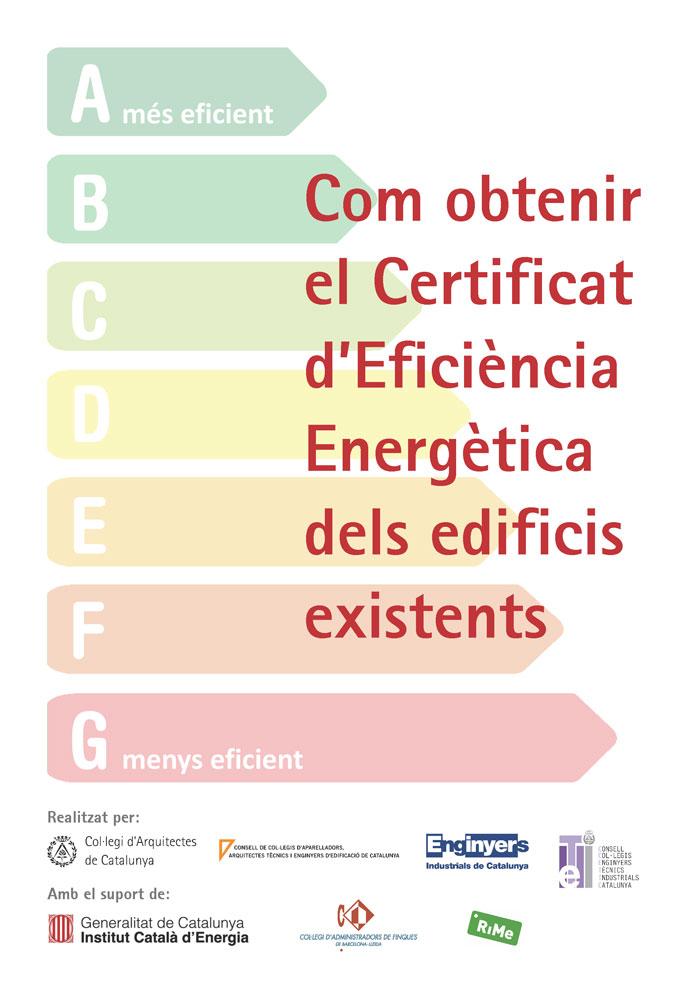 com obtenir el certificat d'eficiència energètica