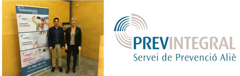 Conveni de col·laboració amb Previntegral