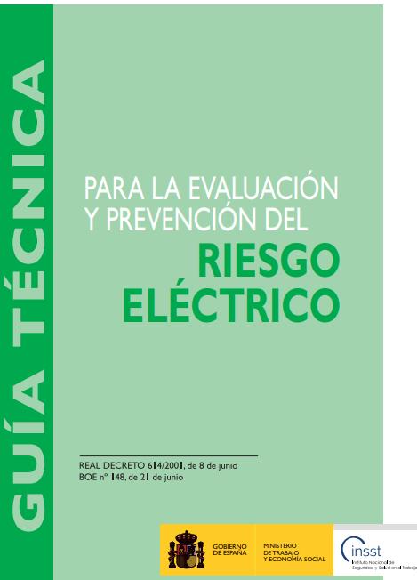 Guia tecnica riesgo electrico