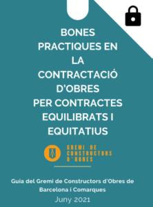 Bones practiques en la contractació d'obres